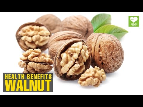 Walnut - Health Benefits | Health Tips | Educational Video