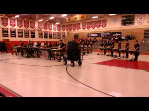 Hunterdon Central Regional High School Indoor Percussion Performance