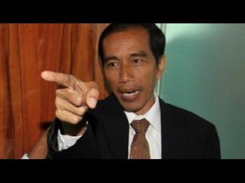 Emangnya cuma Ahok saja yang bisa marah? Edisi Jokowi Marah