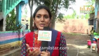 Devadarshini At Achamindri Movie Shooting Spot