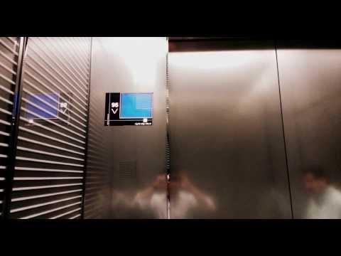 Burj khalifa - Armani Lounge - Going Down The Fastest Elevator In The World