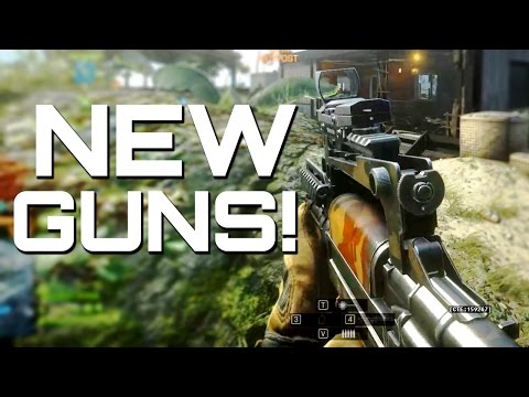 Battlefield 4: Five New Guns!