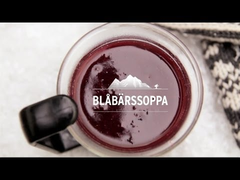 Blbrssoppa (Swedish Blueberry Drink) | Thirsty For...