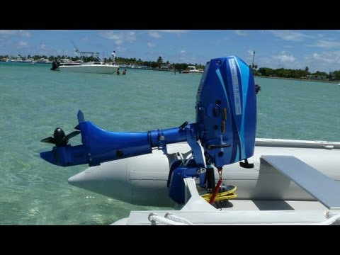 3.5HP Outboard Motor with 18' KaBoat SK548XL KaBoat