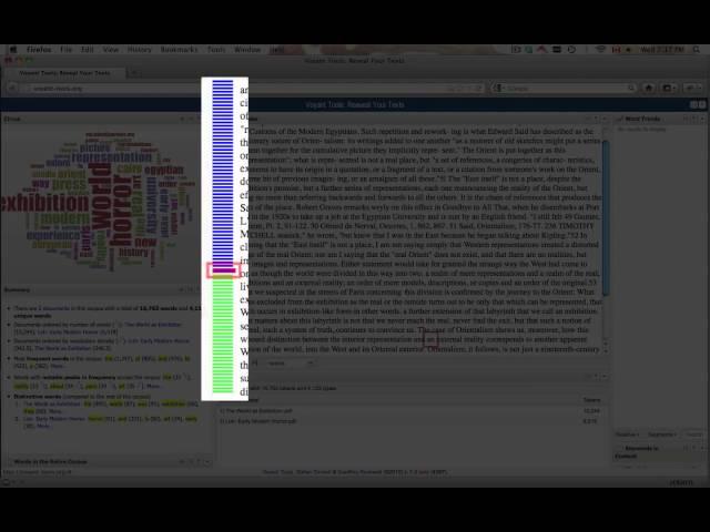 Corpus Reader Tool