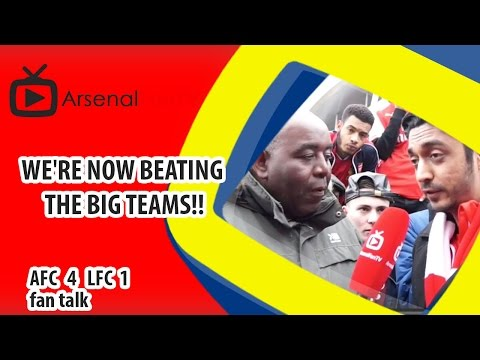 We're Now Beating The Big Teams!! | Arsenal 4 Liverpool 1