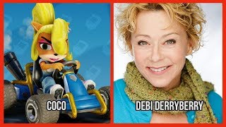 Characters and Voice Actors - Crash Team Racing Nitro-Fueled