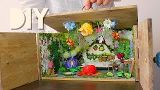 DIY☺︎【ジブリdollhouse】100均の材料でアリエッティ風のお部屋を作る【Ghibli Miniature】Arrietty's house