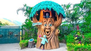 The Best Amusement parks for kids Outdoor Playground for funny Playtime