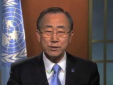 Ban Ki-moon - International World Water Day 2013: Water Cooperation