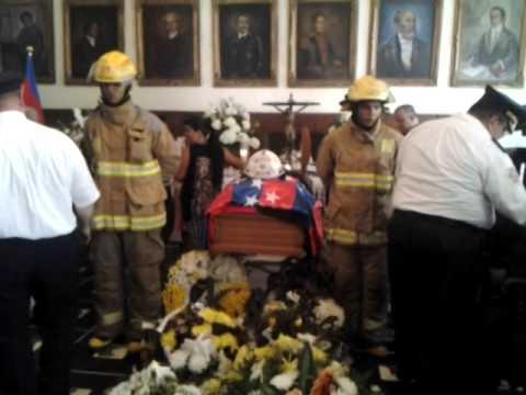 Homenaje a un héroe en el Palacio Tayrona #SensibleFallecimiento