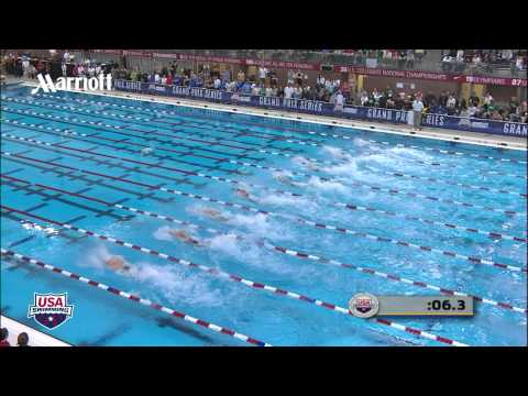 Men&#039;s 50m Freestyle A Final - 2012 Columbus Grand Prix