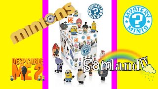 MINIONS | Despicable Me Mystery Minis Surprise Boxes NEW Minions Gru Vinylmation