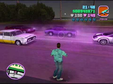 GTA : vice city Helicoptero indestructible