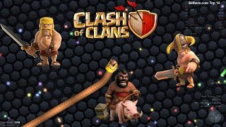 Slither.io Clash of Clans Skin Mods (Domuz Binicisi vs Barbar ) - Kazanan Kim ?