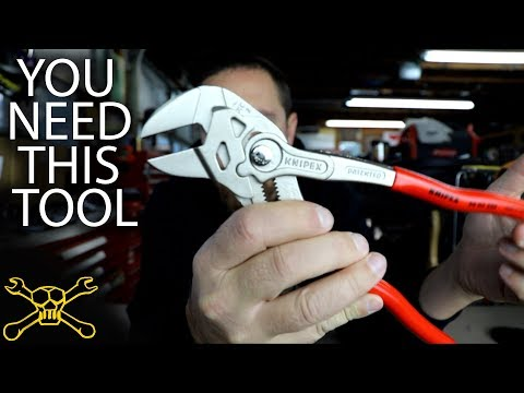 You Need This Tool - Episode 104 | Knipex Wrench Pliers