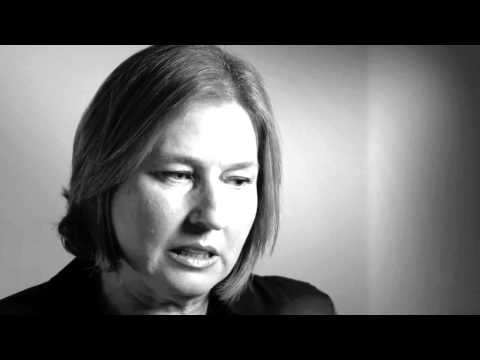 PC2012 - America and Israel Stories - Kadima Party Chair Tzipi Livni