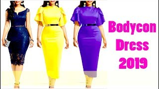 Best Bodycon Dress 2019 !! Stunning Christmas Party Dresses