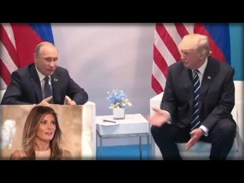 IN THE MIDDLE OF TRUMP PUTIN MEETING, MELANIA BUSTED IN AND DID SOMETHING THAT SURPRISED EVERYONE