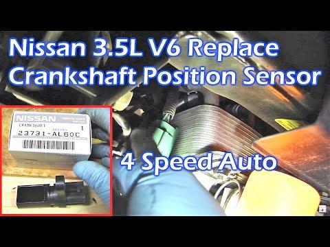 Replace Nissan 3.5L V6 Crankshaft Position Sensor