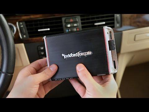 Rockford Fosgate Boosted Rail Micro Amplifiers