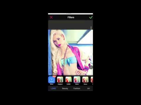 Xiu Xiu Meitu App Móvil para Android en INGLÉS: Descarga y Tutorial!
