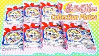Anime Sailor Moon Collection Plates - Kawaii Surprise Blind Boxes