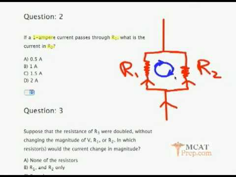 MCAT Prep Physics Sample Problems: Studying Electricity by Gold Standard