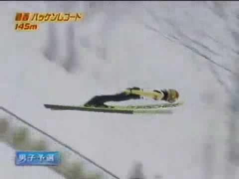 Noriaki Kasai Sapporo Hill Record 145m