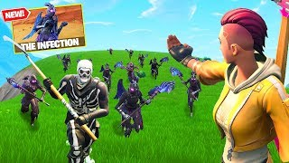 INFECTED HORDE ESCAPE Custom Gamemode In Fortnite Battle Royale!