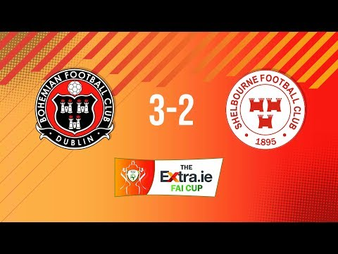 Extra.ie FAI Cup First Round: Bohemians 3-2 Shelbourne