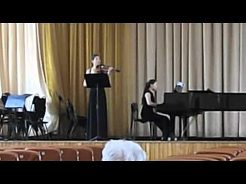 Фибих, Зденек - Сонатина для скрипки и фортепиано ре минор