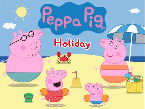 Peppa Pig's Holiday by P2 Games – Best iPad app demo for kids