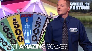 Top Five Most Amazing Solves! | Wheel of Fortune