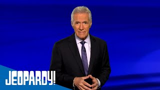 Thank You From Alex Trebek | JEOPARDY!