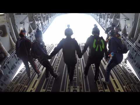 Jumping a C-17 Globemaster
