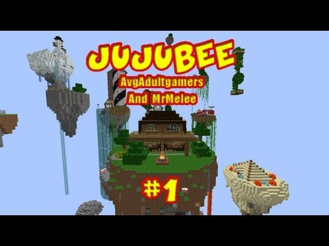 JujuBee Ep. 1 w/ @AvgAdultGamers & @MrMelee23   A @YouAlwaysWin MineCraft Adventure Map