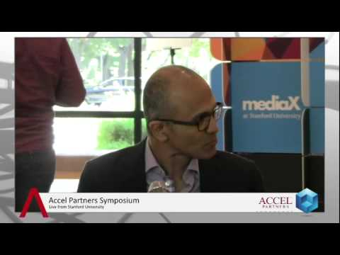 Satya Nadella at the Accel Partners Symposium