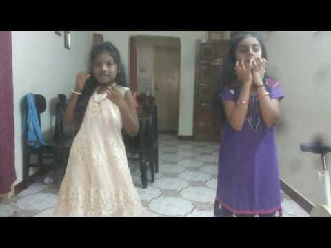 Kids dancing Nagini title song tamil