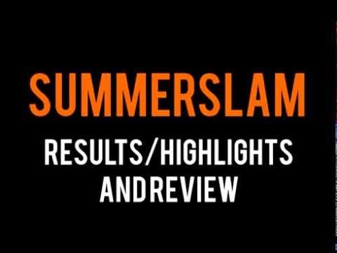Wwe Summerslam 2014 Full Show Results highlights & Review, Brock Lesnar Wins The Wwe Title video