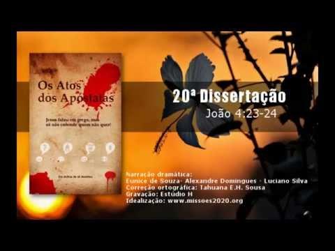 Áudio-book: Os Atos dos Apóstatas - 20ª Dissertação