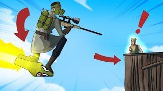 BEST ROCKET RIDE SNIPE EVER!! (Fortnite Battle Royale - Cizzorz Highlights #40)