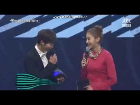 Joo Won & UEE @ 49th Baeksang Arts Awards CUT 5.9.13