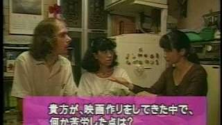 First TV appearance of Deaf Film Director Robert Hoskin - やまびこテレビ ( CC )