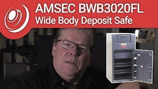 AMSEC BWB3020FL Wide Body Deposit Safe with Dye the Safe Guy