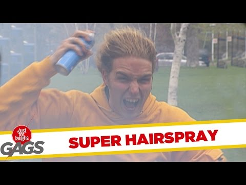 Throwback Thursday- Super Hairspray Prank