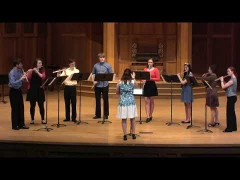 Octet (K. Hvoslef) - Lawrence University Flute Ensemble - 05.15.16
