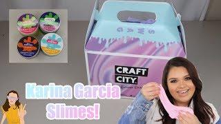 BRAND NEW Karina Garcia Craft City Slime Kits! | Kelli Maple