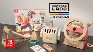 Musique Publicité 2018 - Nintendo - Switch - Nintendo LABO - Kit Véhicules