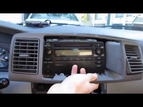 2003-2008 Toyota Corolla Car Stereo Upgrade - [Part 1 of 3] - KiRaShi